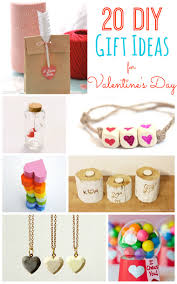 Homemade Valentines Day Gifts by 20 Diy Valentine U0027s Day Gift Ideas Tatertots And Jello