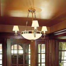 Lighting Foyer Three Arm Alabaster Chandelier With Electric Candles Lights Foyer