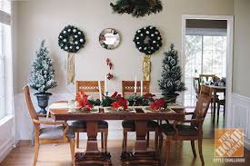 Christmas Decorating Ideas For The Dining Room - Decorating the dining room