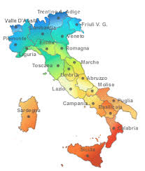 provinces of italy map map of provinces in italy deboomfotografie