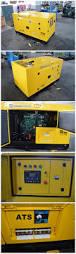 silent canopy diesel generator set standby emergency genset 10kw 15kw