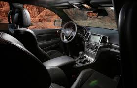 jeep grand cherokee red interior jeep announce the offroad focused grand cherokee trailhawk
