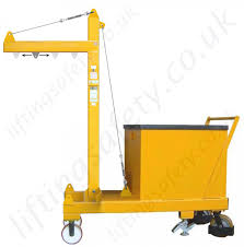 manual or powered rigid arm counterbalance workshop floor crane