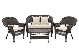 Patio Furniture Conversation Set Wicker Lounge Conversation Chat U0026 Sectional Patio Sets Wicker Com