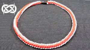 paracord woven bracelet images How to make a 4 strand round braid paracord necklace tutorial jpg