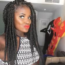 grey and purple combined together style box breads box braids hairstyles 16 photos of box braid hairdos