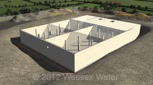 a typical water storage tank construction youtube