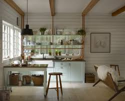 Coastal Cottage Kitchen - kitchen kitchen wall ideas small kitchen design ideas cottage