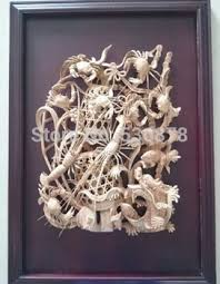 buy exquisite modern wood carving work aquatic theme home