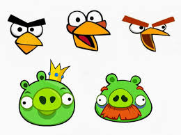 esselle crafts angry birds twister game