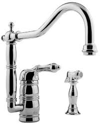 Graff Kitchen Faucet by Graff G 4855 Canterbury Kitchen Faucet With Side Spray