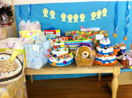 fishing themed baby shower fish theme baby shower gift table party fish