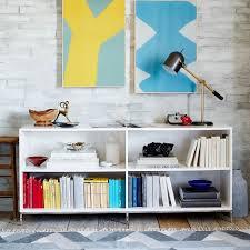 west elm white bookcase lacquer storage bookcase west elm