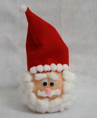 Christmas Decoration With Santa Claus by Christmas Crafts For Kids All Kids Network