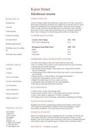 resume exles for hairstylist hair stylist cv sle cv hair removal fashion resume