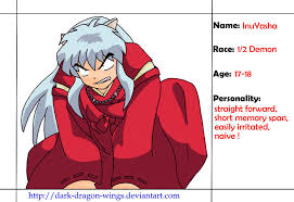 Inuyasha Memes - inuyasha profile by dark dragon wings on deviantart