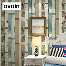 aliexpress com buy designer rustic embossed wood panel wallpaper