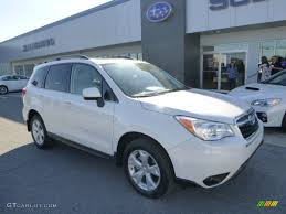 subaru forester 2016 interior 2016 crystal white pearl subaru forester 2 5i limited 106654219
