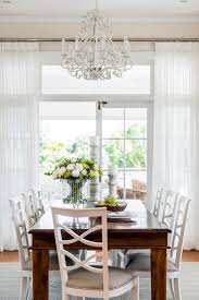 curtain ideas for dining room sheer curtain ideas dining room traditional with white chairs