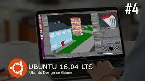 ubuntu design de games blender 3d criação de low poly cartoon