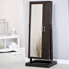 Wall Mirror Jewelry Armoire Fashion Standing Floor Mirror Jewelry Armoire And Full Length