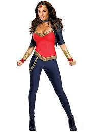 sexy female superheroes costumes womens superhero halloween costumes wonder woman deluxe adult costume