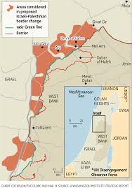 Israel Map 1948 Wadi Ara Could Be A Sticking Point In Future Israeli Palestinian