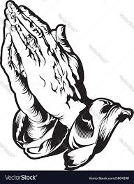 hand tatoo image praying hands tattoo royalty free vector image