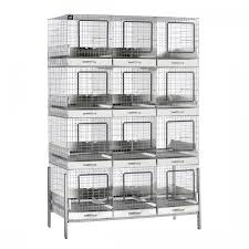 Kims Rabbit Hutch 12 Hole Apartment Cage Rabbit Cages Breeding Cages House