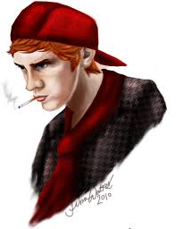 man in halloween costume transparent background my friend drew me so well man that red hunting hat i still