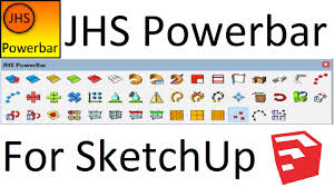 jhs powerbar for sketchup complete guide youtube
