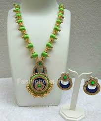 green necklace set images Buy green necklace set online from sleek and trendy jpeg
