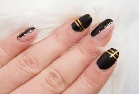 nail art tutorial u2013cool striping tape nail art design