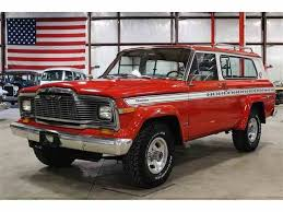 old jeep grand wagoneer classic jeep cherokee for sale on classiccars com
