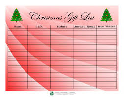 christmas gift list financial literacy