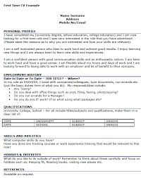 Good Communication Skills To Put On A Resume Resume For First Job Examples Resume Example And Free Resume Maker