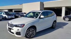 new bmw x3 28d m sport with 19