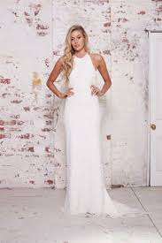 halter wedding dresses 48 trendy halter neckline wedding dresses happywedd