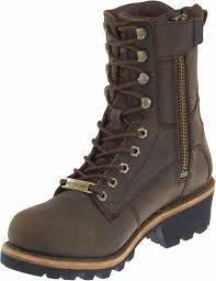 brown leather harley boots harley davidson men u0027s tyson 7 5 inch brown logger style