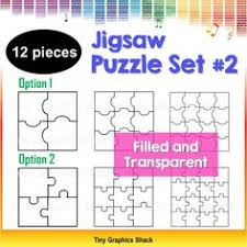 jigsaw puzzle blank template set 1 fun puzzle games puzzles