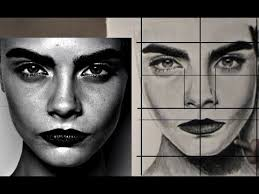 easy way to draw a realistic face youtube