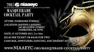 niaaeyc masquerade cocktail party 2017 youtube