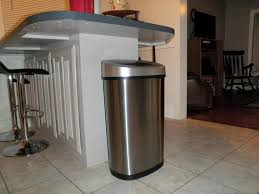 Kitchen Trash Can Ideas Decor U0026 Accessories Various Cool Design Touchless Garbage Can For