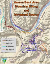 Utah State Parks Map by Moab Mountain Biking Trails Moab Mountain Bike Trail Information