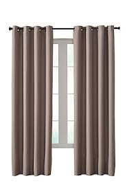 home decorators collection darcy insulated curtain taupe 54