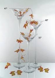 Giant Martini Glass Decoration Amazon Com Wgv Giant Large Martini Glass Vase 32 Inch Home