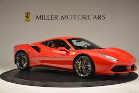 ferrari supercar 2016 2016 ferrari 488 gtb stock 4407 for sale near greenwich ct ct