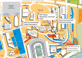 University Of Tennessee Campus Map by Event Logistics