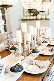 decorating a dining room table for thanksgiving designer dining