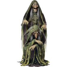 swamp hag rising animated halloween decoration walmart com